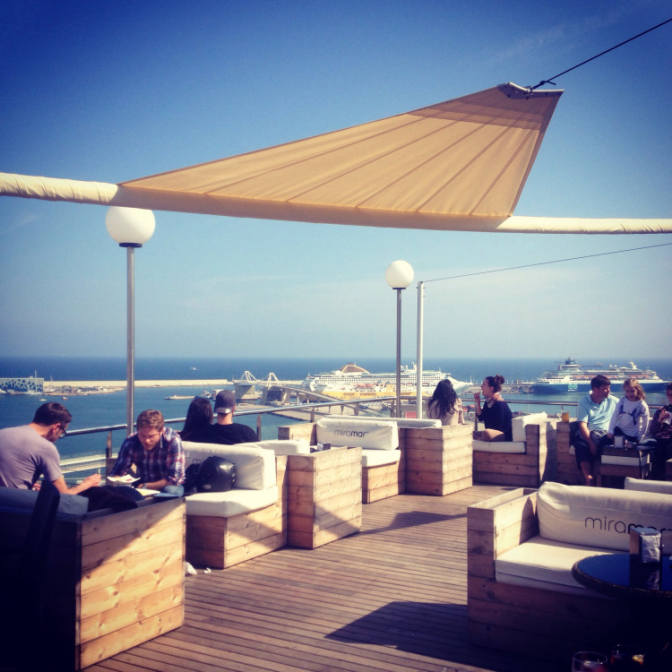Sky S The Limit The Best Rooftop Terrace Bars In Barcelona