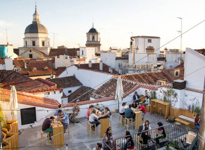 Partymonthspain Guide To Madrid S Loveliest Rooftop