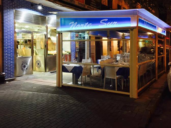 Spanishfoodiemonth where to find the very best seafood for Puerta 57 bernabeu